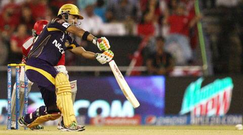 Gautam Gambhir now has 23 half-centuries across seven IPL editions --- maximum by any player till date (Photo: BCCI/IPL)