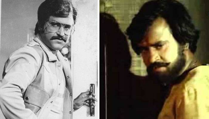 <b>Gangvaa/John Jani Janardhan</b>: Gangvaa in 1984 was a hit directed by Rajasekhar. The film featured Rajinikanth, Shabana Azmi and Suresh Oberoi. Gangvaa was a remake of his 1983 Tamil film 'Malaiyur Mambattiyaan'. <br /><br /> In John Jani Janardhan, Rajinikanth did a triple role. (Source: Express archive photo)