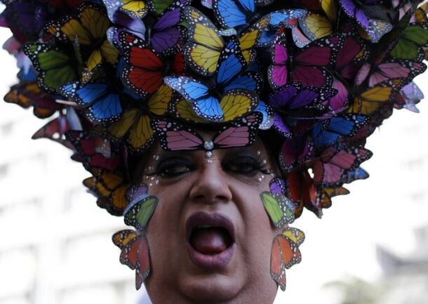 Brazil celebrates world's largest Gay Pride Parade