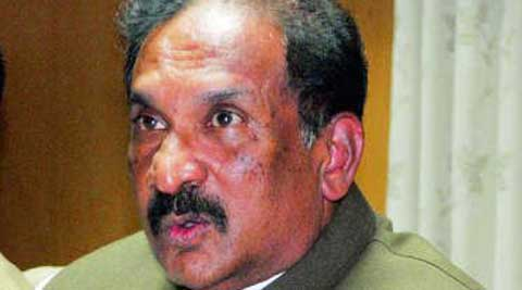Bangalore Home Ministre KJ George.