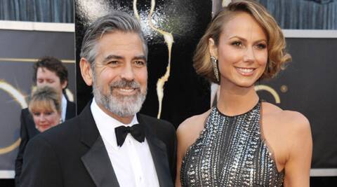 George Clooney's ex-girlfriend Stacy Keibler was reportedly irked by his engagement to Amal Alamuddin.