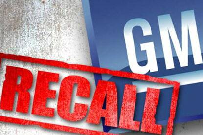 Another day, another recall from General Motors.