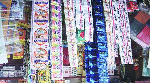 The sale of gutkha and tobacco products are banned in Maharashtra.
