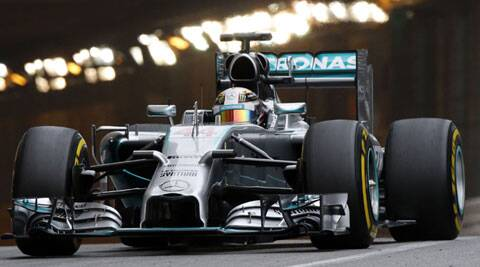 Hamilton leads Rosberg by three points in the standings after four successive one-two finishes (Reuters)