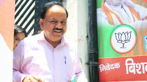 AIIMS members said Harsh Vardhan's statement was an attempt to continue political expediency deciding the fate of the institute (Source: Express photo by Amit Mehra)
