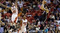 Experience comes through for Miami Heat and San Antonio Spurs as they go 2-0up