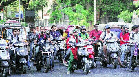 Number of two-wheeler users in city significantly high, say experts