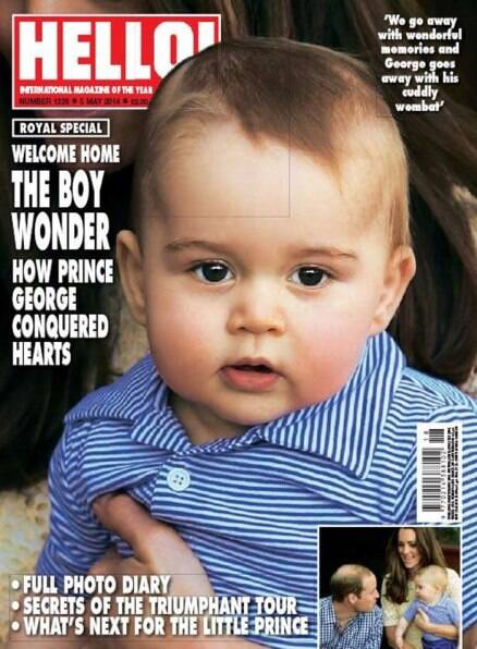 Prince George conquers hearts!