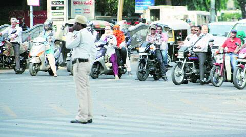 Crackdown on two-wheeler riders not wearing helmets will be intensified.