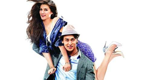 Tiger Shroff and  Kriti Sanon  in Heropanti