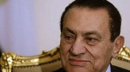 Mubarak was released from jail in August last year but has been kept under house arrest in a military hospital in a Cairo suburb. (Source: Reuters)