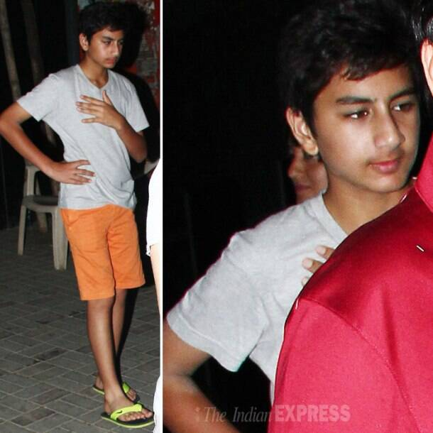 Doting dads Hrithik, Saif enjoy movie night with kids