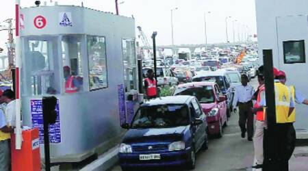 Users of bullet-proof cars have written to MSRDC,  Mumbai Entry Point (Express archive)