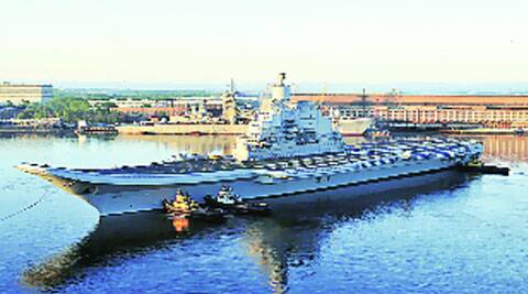 Apart from Vikramaditya (above), two modern ships are to be inducted soon, Dhowan said.