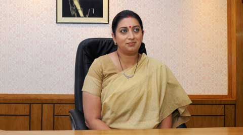 Smriti Irani. ( Source: PTI )