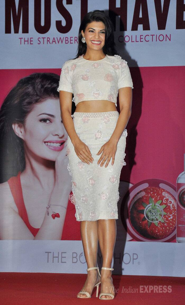 The actress looked lovely in Drashta separates with ankle-strapped sandals. (Photo: Varinder Chawla)