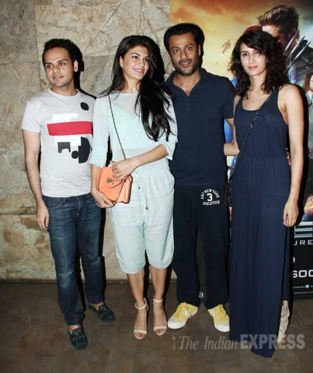 Sussanne Roshan on movie date with Arjun, Mehr Rampal