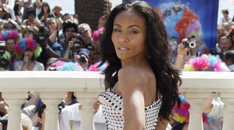Jada Pinkett Smith: there was nothing sexual about that picture or that situation. (Reuters)