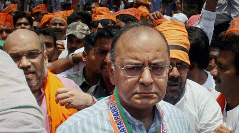 Asked by the party to make his electoral debut from Amritsar, Jaitley put up a spirited fight against Singh and looked serious about staying on in the constituency even post-elections as he bought a house there. (Photo: PTI)