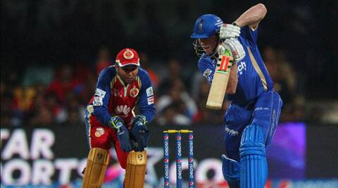Rajasthan Royals all-rounder James Faulkner smashed 41 off 17 balls to guide his team to an astonishing win against Royal Challengers Bangalore. (IPL/BCCI)