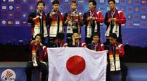 Japan clinch maiden Thomas Cup title