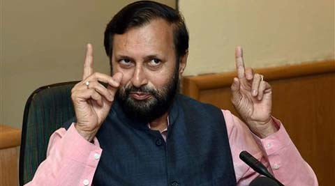 """The projects pertaining to coastal roads were long pending with the UPA government. We will try clearing such projects in limbo,"" Environment Minister Praksh Javadekar told reporters in Mumbai. Source: PTI Photo"