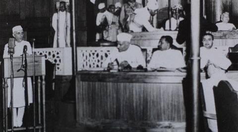 To put it most briefly, the Mahatma was India's liberator, Nehru its moderniser and untiring builder of its parliamentary democracy.