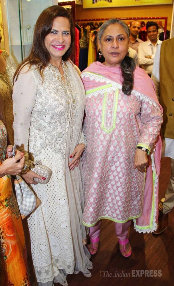 While his mother Jaya Bachchan was busy at the launch of a luxury multi designer store in Juhu. (Photo: Varinder Chawla)