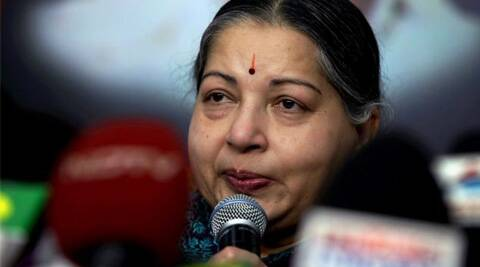 Jayalalithaa will meet Modi at his South Block office in New Delhi on June 3, a state government release said, adding, she will present a memorandum to the Prime Minister. (Express Archive)