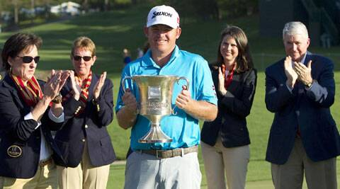 J. B. Holmes clinched his first title in six years. (USA Sports Today)