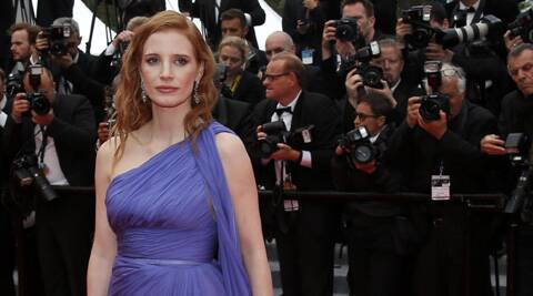'Zero Dark Thirty' star Jessica Chastain has called for a female superhero movie to be released.