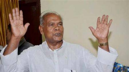 Jitan Ram Manjhi was on Tuesday sworn in as Bihar Chief Minister. (Source: PTI)