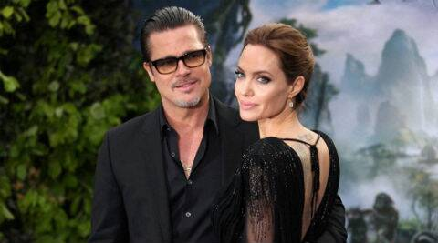 "Angelina Jolie on acting with Brad Pitt, ""we are thinking about it.'' (AP Photo)"