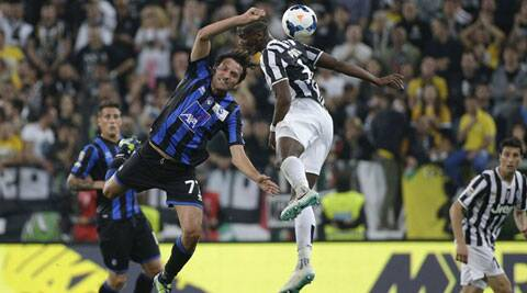 Juventus clinched their 30th league title the day before when second-place Roma lost 4-1 at Catania. (Reuters)