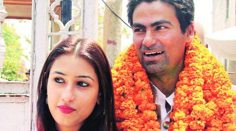 Kaif and wife Pooja Yadav