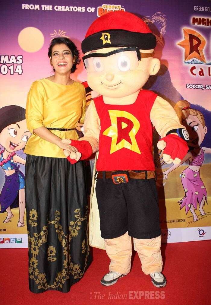 The event also celebrated the trailer launch of upcoming animated movie 'Mighty Raju Rio Calling'. (Photo: Varinder Chawla)