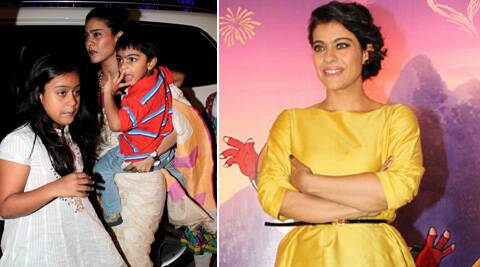 "Kajol also said, ""Every mother is a mighty mother as she has to deal with their kids, their tantrums, their moods."""