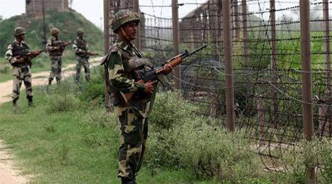 On April 28, Pakistani troops violated the ceasefire by firing on Indian posts along the LoC in Bhimber Gali in Rajouri district.
