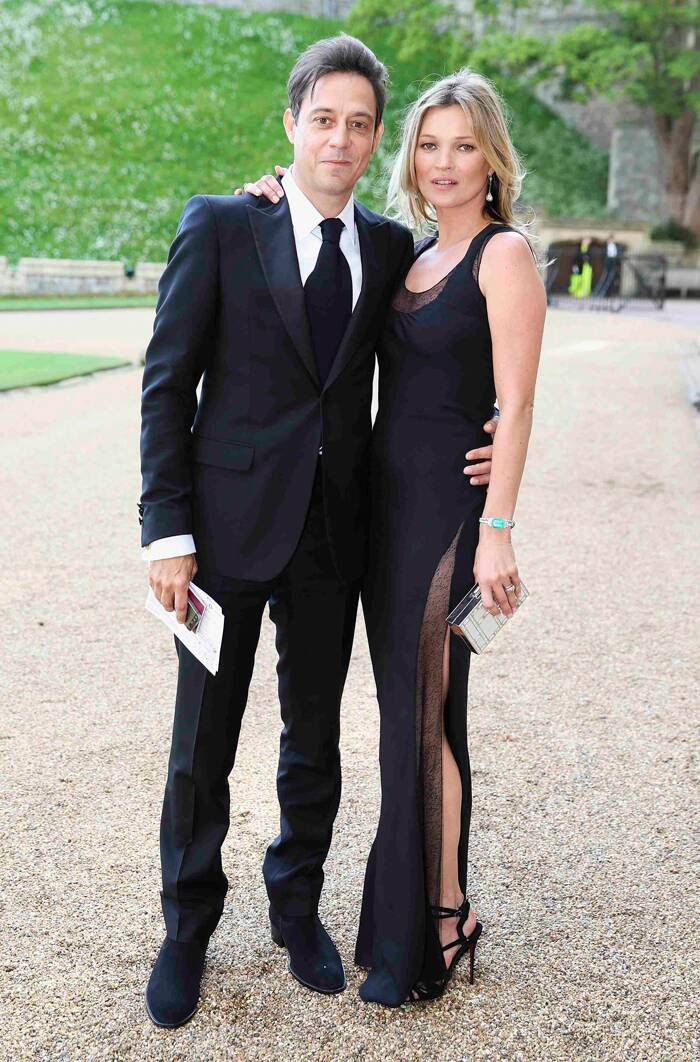The supermodel was accompanied by her husband Jamie Hince who was dapper in a dark suit. ( Source: Reuters )