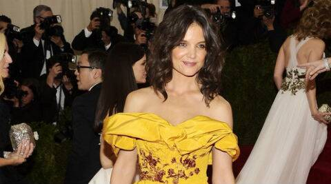 Katie Holmes next will be seen in The Giver. (Source: AP)