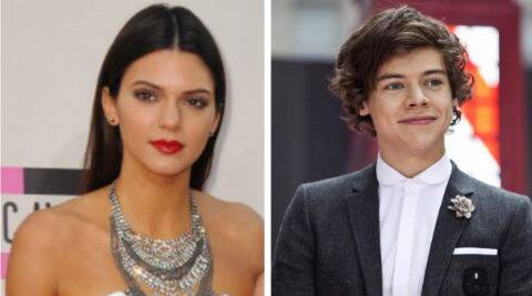 Kendall Jenner was linked to Harry Styles last year after the duo were seen together on a number of occasions. (Source: AP/Reuters)