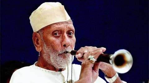 Shehnai maestro Bismillah Khan (File photo: PTI)