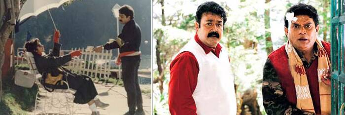 This musical comedy was said to be one of Mohanlal's most fun films. He played the role of Joji, a tourist guide who meets a young orphan girl in search of her father, played by Revathi. The film was the highest grossing Malayalam film of 1991 and ran for more than 300 days at the theatres. Mohanlal also received yet another Kerala State Film Award for his Best Actor.