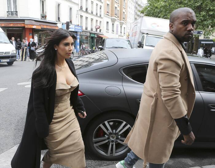 "Television reality star Kim Kardashian and rapper Kanye west are now are officially ""Bound'' to each other. The celebrity couple, who have made a habit of over-the-top, public displays of affection, got hitched Saturday in a decidedly private spot: a Renaissance fortress in Florence. (Source: AP)"