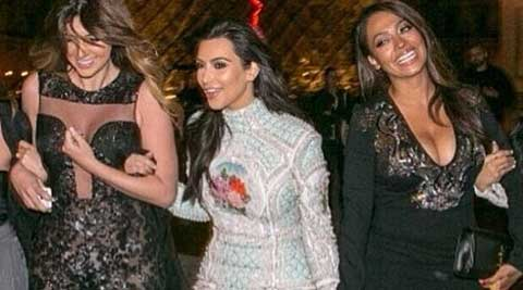 The 33-year-old bride to be was accompanied by siblings Khloe, Kendall and Kylie as well as friends LaLa Anthony, Joyce Bonelli, Monica Rose, Brittny Gastineau, and more on May 22, reported Us magazine.