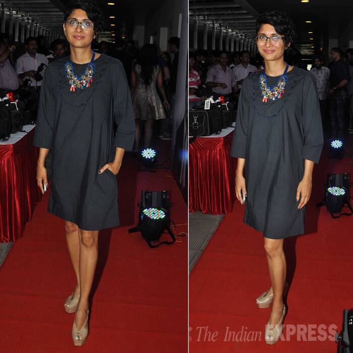 Anushka Sharma returns to Mumbai, Kiran Rao has a night out with Vidya Balan's husband