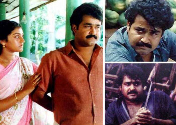 Kireedam – Mohanlal delivered one of his best performances in Sibi Malayil's 'Kireedam'. It tells the tale of a young boy whose hopes and dreams are shattered as a result of destiny and consequence. The film, which later had a sequel 'Chenkol', as well earned Mohanlal a National Film Special Jury Award.