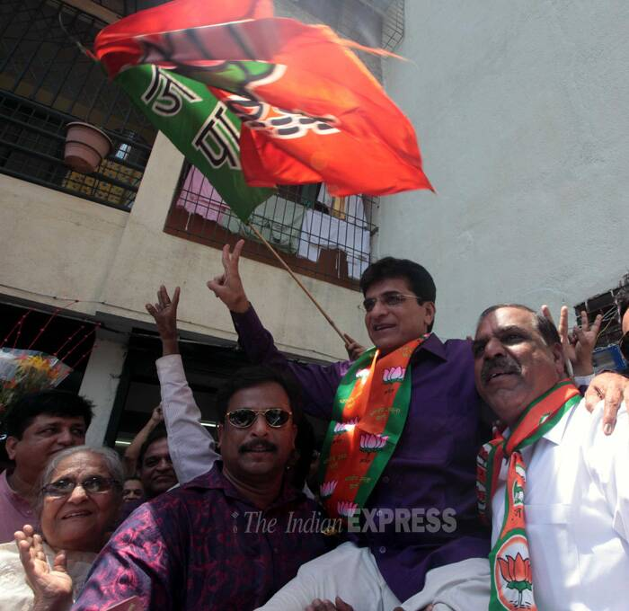 Kirit Somaiya – Mumbai northeast (BJP)