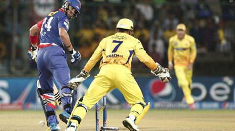 The win was Chennai's sixth in seven games this season and also their sixth straight over the Daredevils. (BCCI/IPL)