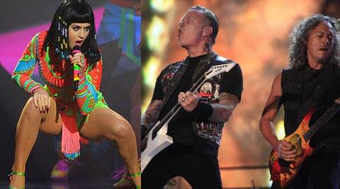 Metallica's Kirk Hammett, Katy Perry and Mark Mothersbaugh of Devo will all be coming together for an album that features a 110-year-old song. (Reuters)